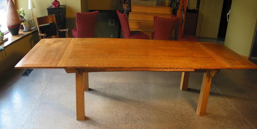 Furniture for Dining table with leaf insert